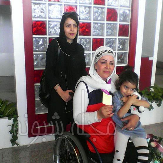 راضیه شیرمحمدی درگذشت   عکس های راضیه شیرمحمدی و دخترانش