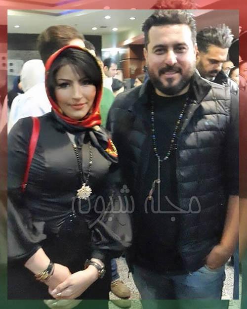 سمیرا مرادی بازیگر و محسن کیایی
