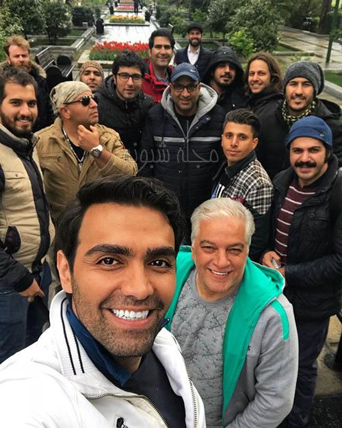 شهاب شادابی بازیگر نقش سهیل نامزد ترانه در سریال بوی باران