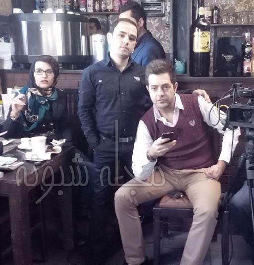 بهامین تورانی | بیوگرافی بهامین تورانی و همسرش نقش آقازاده در سریال گاندو