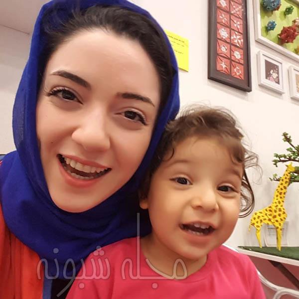 زهره بحرالعلومی و دخترش