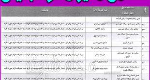 اسامی مدیران دو تابعیتی + لیست و فهرست اسامی مسئولان دو تابعیتی