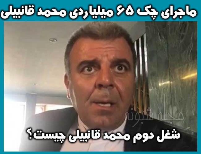 محمد قانبیلی کیست؟ آشغال جمع کردن محمد قانبیلی نماینده مجلس