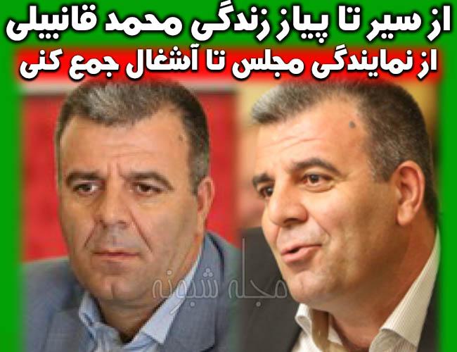 محمد قانبیلی کیست؟ بیوگرافی محمد قانبیلی نماینده مجلس