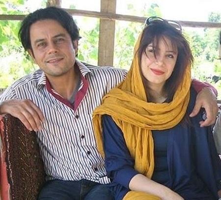 رحیم نوروزی و همسرش بازیگر سریال ایل دا