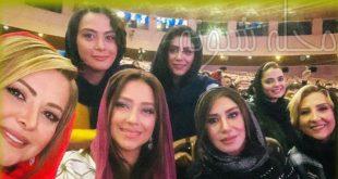 بازیگران در جشن حافظ 98 | عکسهای بازیگران در جشن حافظ 98 + اسام برندگان