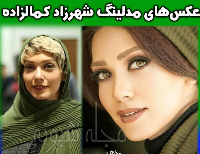 عکس های لو رفته شهرزاد کمالزاده بازیگر نقش مرجان در سریال بوی باران