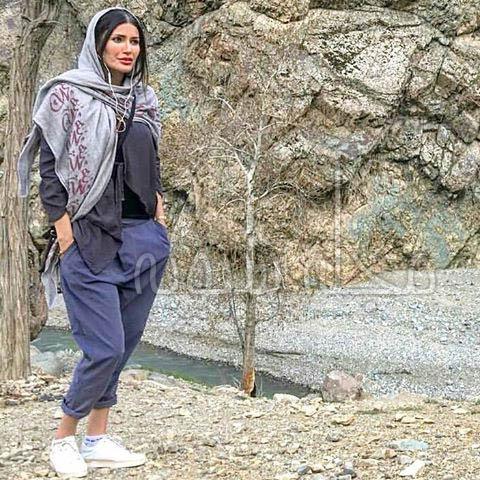 تیپ جنجالی شيوا طاهري بازیگر