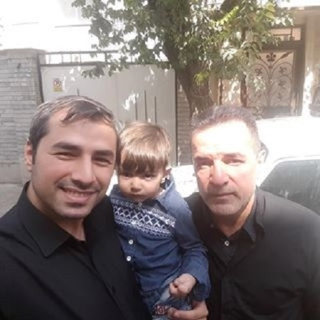 محمد حسن انصاری فرد و فرزندانش