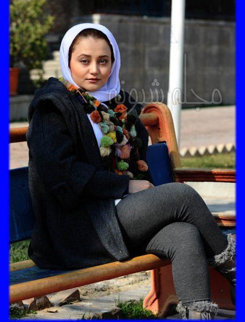 عکس های جنجالی مهتاب جامی بازیگر نقش جوانی مومو در سریال بچه مهندس 3