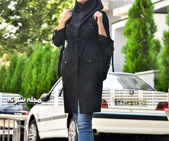 مدل مانتو مشکی محرم 99 دانشجویی