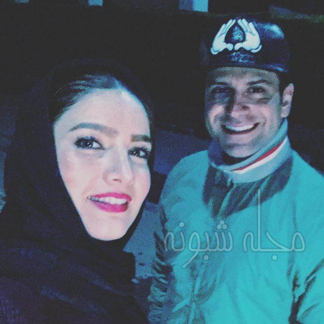 همسر روزبه حصاری بازیگر نقش جوانی جوادی در بچه مهندس سه