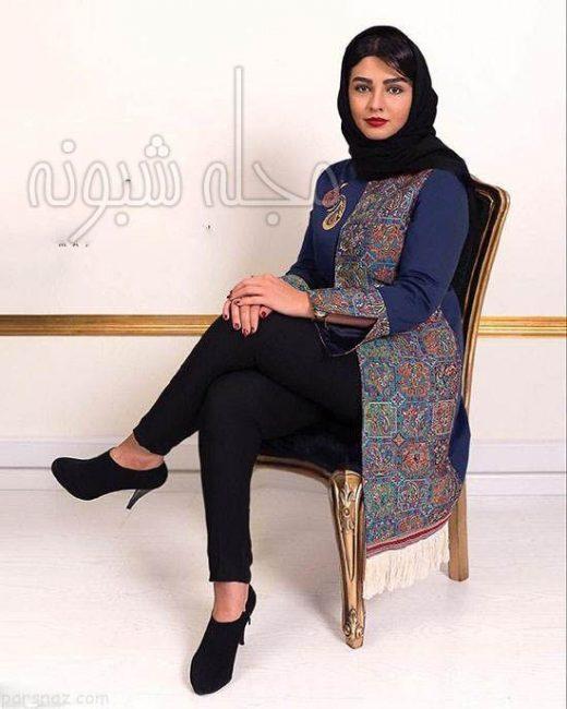 عکس بدون حجاب سیما خضرآبادی بازیگر نقش لیلا در سلام آقای مدیر