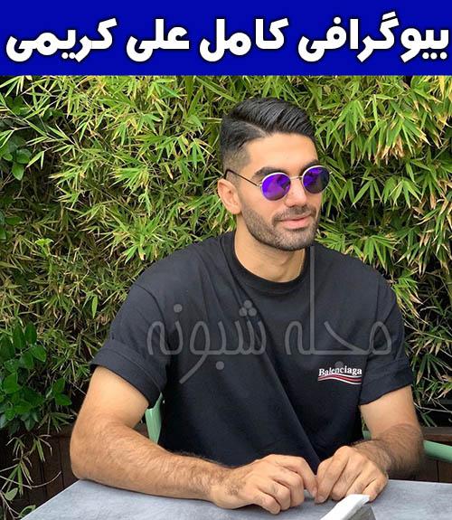 عکس علی کریمی بازیکن فوتبال استقلال
