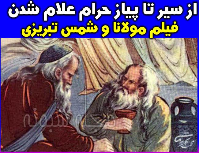 سریال فیلم مولانا و شمس تبریزی مکارم شیرازی حرام شد