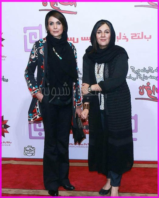پوشش سامیه لک در جشنواره