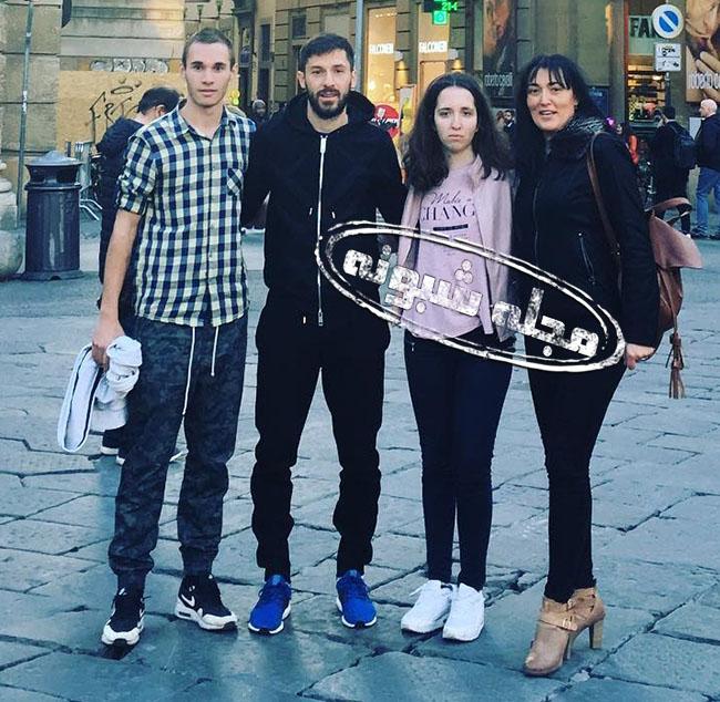خانواده هروویه میلیچ مدافع کروات استقلال