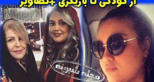 مروارید جعفری بازیگر و همسرش | بیوگرافی و عکس های مروارید جعفری دختر اکر محمدی