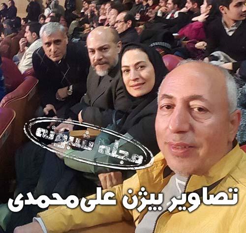 علت درگذشت بیژن علیمحمدی صدا پیشه و دوبلور + بیوگرافی بيژن علي محمدي و همسرش