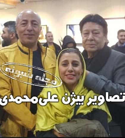 بیژن علیمحمدی صدا پیشه و دوبلور درگذشت + بیوگرافی و عکس بيژن علي محمدي و دخترش نگار
