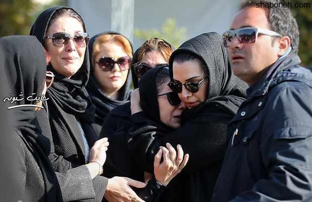 بیوگرافی مجید اوجی تهیه کننده همسر فلورا سام + گریه فلورا سام در تشییع همسرش