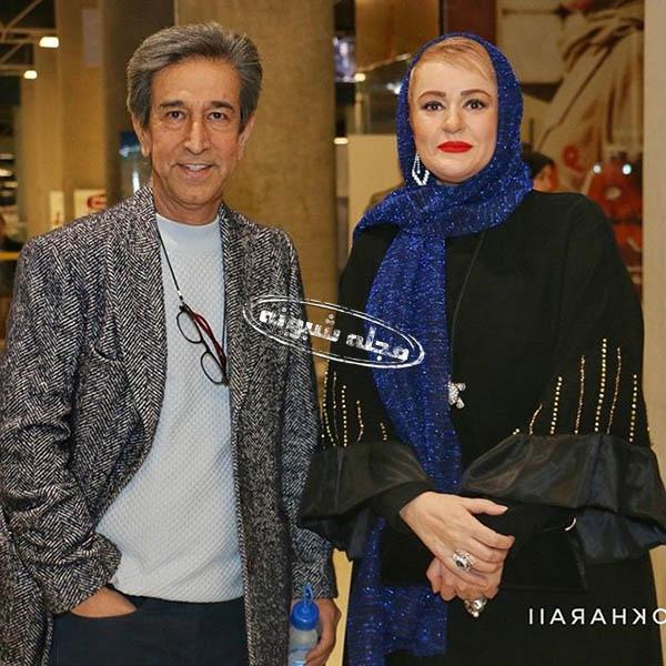 عکس های فلورا سام و همسرش مجید اوجی تهیه کننده