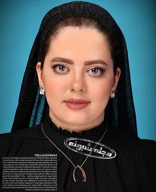 عکس بی حجابی مهسا ایرانی (مهسا قنواتی)