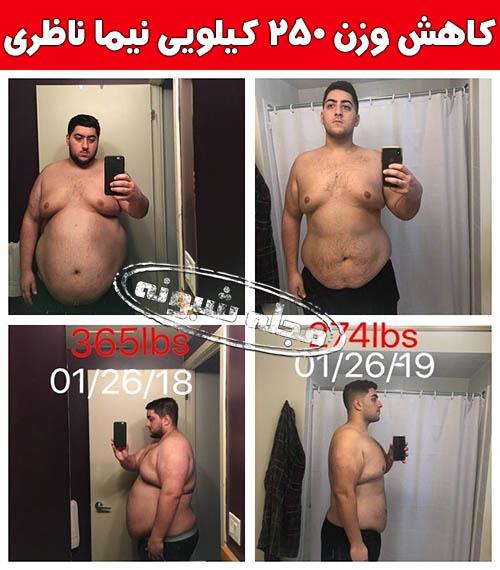 نیما ناظری کمدین | بیوگرافی و اینستاگرام نيما ناظري و کاهش وزن