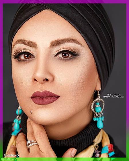 عکس جنجالی حدیثه تهرانی بازیگر نقش طوبی در سریال وارش