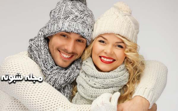 شال و کلاه زنانه و مردانه ست زن و شوهر | مدلهای ست شال و کلاه