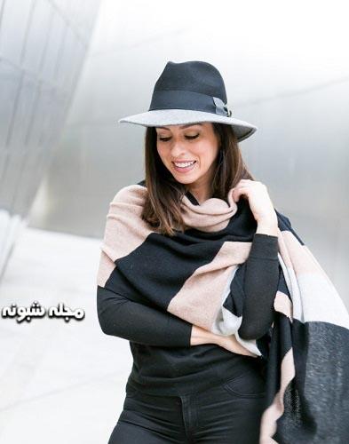 شال و کلاه زنانه طرح و مدل پهلوی