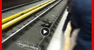 خودکشی در مترو شهرری | فیلم خودکشی دختر دایی و دختر عمه