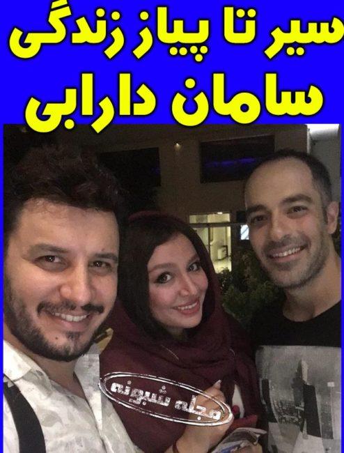 بیوگرافی سامان دارابی بازیگر نقش فرهاد در سریال زیر همکف