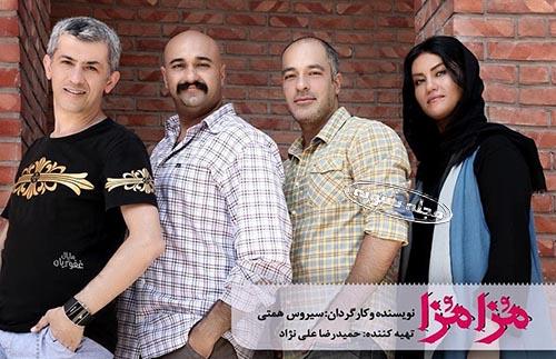 بیوگرافی سامان دارابی بازیگر نقش فرهاد در سریال زیر همکف و همسرش