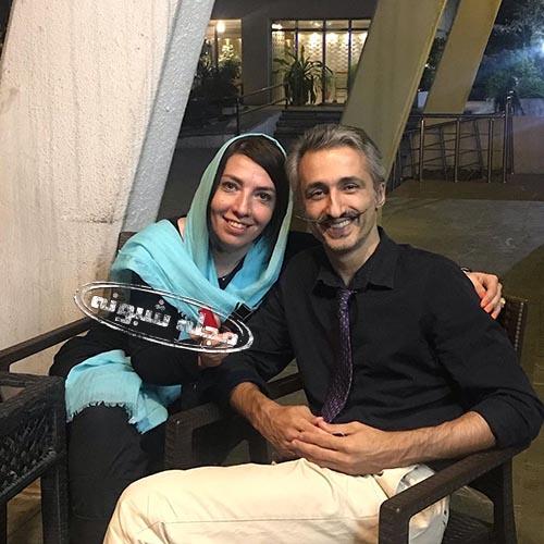 سهی بانو ذوالقدر و همسرش