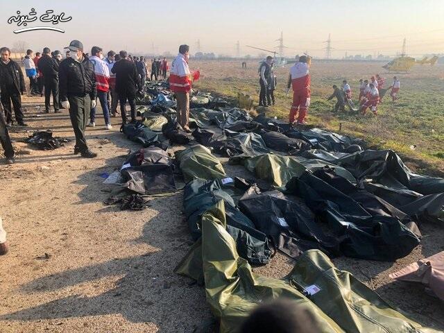 بیانیه سپاه پاسداران درباره سقوط هواپیمای مسافربری اوکراینی