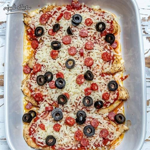 طرز تهیه غذای ایتالیایی چیکن پارمژان خوشمزه و ارزان