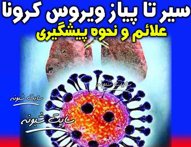علائم ویروس کرونا چیست؟ نشانه های بیماری کرونا (corona) در ایران