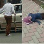 قتل دختر جوان توسط پدرش در خیابان (شهرستان خوی)