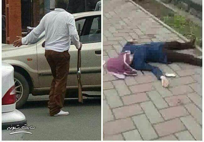 قتل دختر نوجوان توسط پدرش در خیابان (شهرستان خوی)