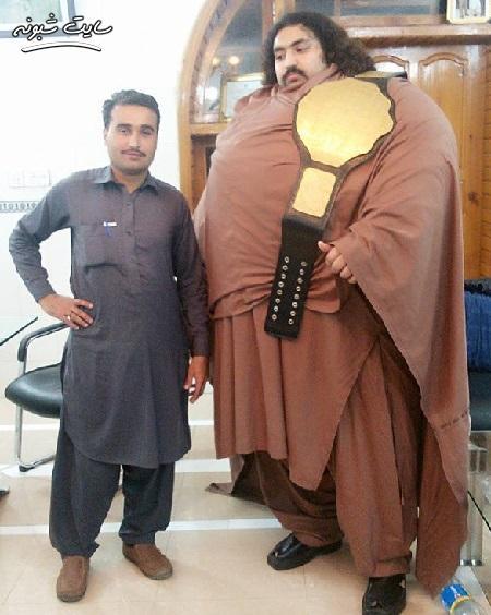 هالک 400 کیلویی پاکستانی کیست؟ تصاویر و رد پیشنهادات ازدواج
