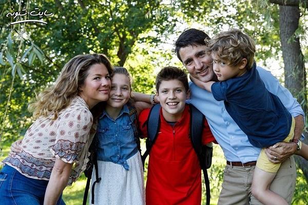 بیوگرافی جاستین ترودو نخست وزیر کانادا و همسر و فرزندانش +عکس