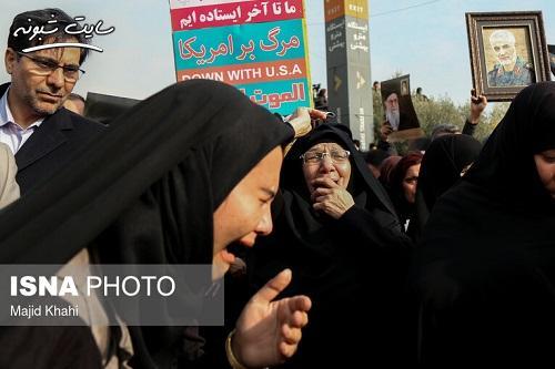 تصاویر تشییع پیکر شهید سردار قاسم سلیمانی در اهواز