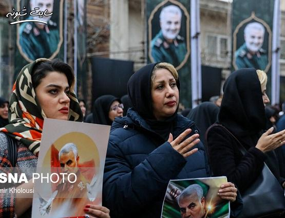 تصاویر تشییع پیکر شهید سردار قاسم سلیمانی در اهواز و تهران و مشهد