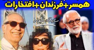 بیوگرافی محمود کلاری (فیلمبردار و کارگردان) و همسرش +دایی نسیم ادبی
