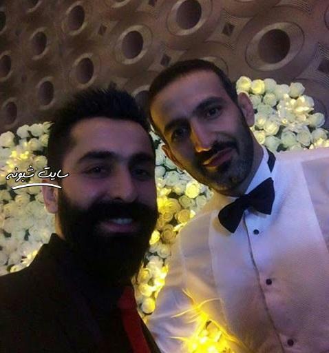 بیوگرافی حمزه زرینی والیبالیست و همسرش + عکس عروسی
