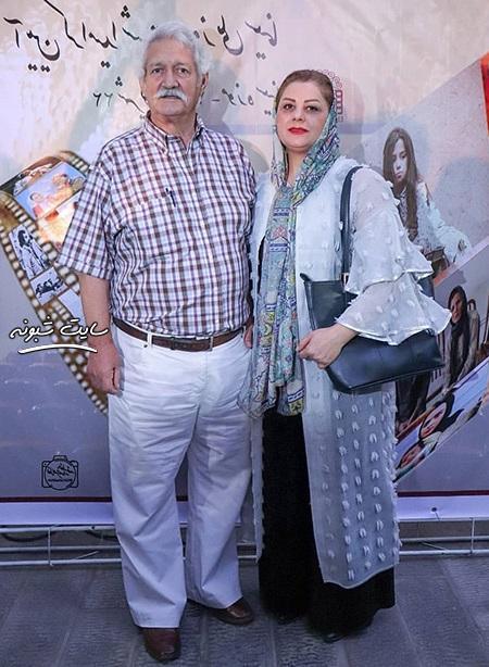 بیوگرافی آتش تقی پور بازیگر و همسرش شهین علیزاده + عکس
