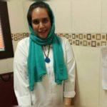 دکتر نیلوفر اسماعیل بیگی پزشک بیمارستان محب کوثر تهران بر اثر کرونا درگذشت