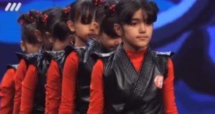 فیلم اجرای فرشتگان نینجا در عصر جدید (خواهران فرجی پور)