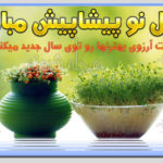 تبریک پیشاپیش سال نو 1400 و عید نوروز سال نو پيشاپيش مبارک +عکس نوشته